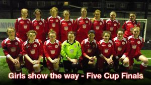 Girls show the way – Five Cup Finals