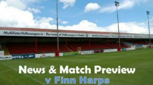 News and Match Preview – v Finn Harps