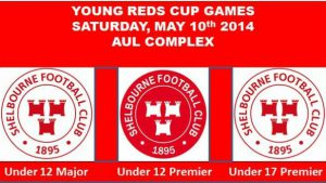 Young Reds Cup Games – Sat, May 10th