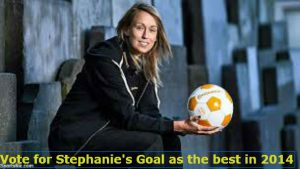 Vote for Stephanie Roche for the FIFA best goal of the year.