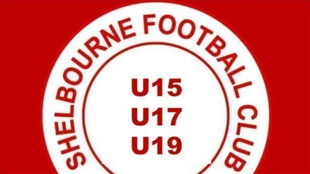 Shelbourne football club youth team logo