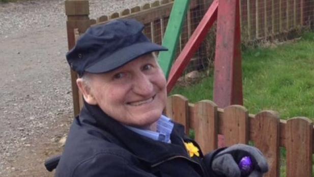 An Image of late Joe Kennedy a Shelbourne FC Fan.