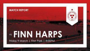 Finn Harps 1-1 Shelbourne : REPORT