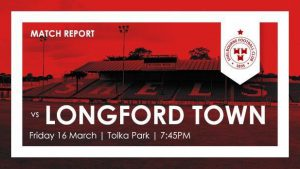 Shelbourne 3-2 Longford Town : REPORT