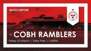 Shelbourne 1-0 Cobh Ramblers : REPORT