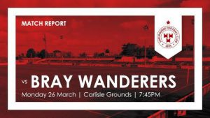 Bray Wanderers 0-3 Shelbourne : REPORT