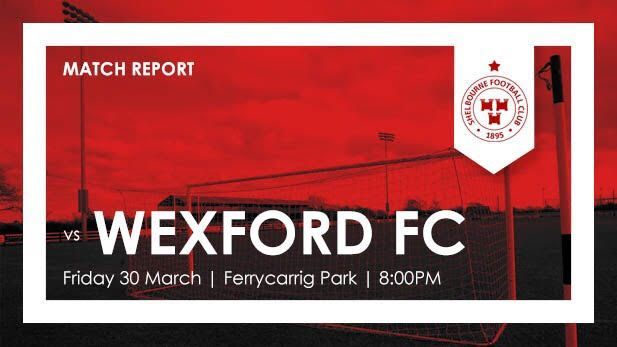 graphic showing the preview for the match for Shelbourne vs Wexford Fc