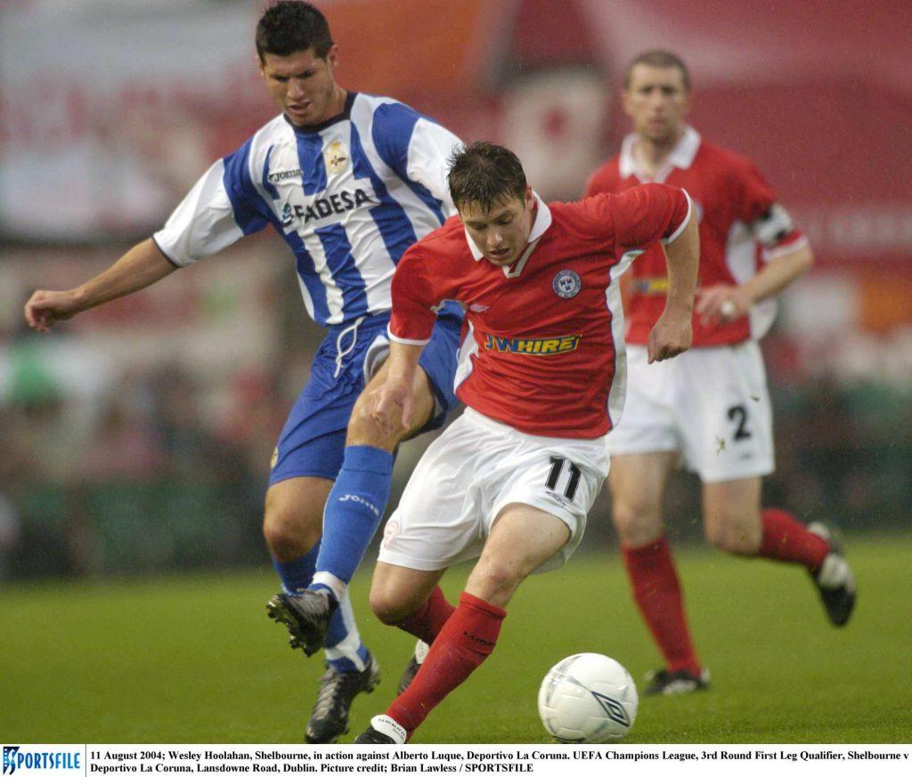 Players Playing Football match