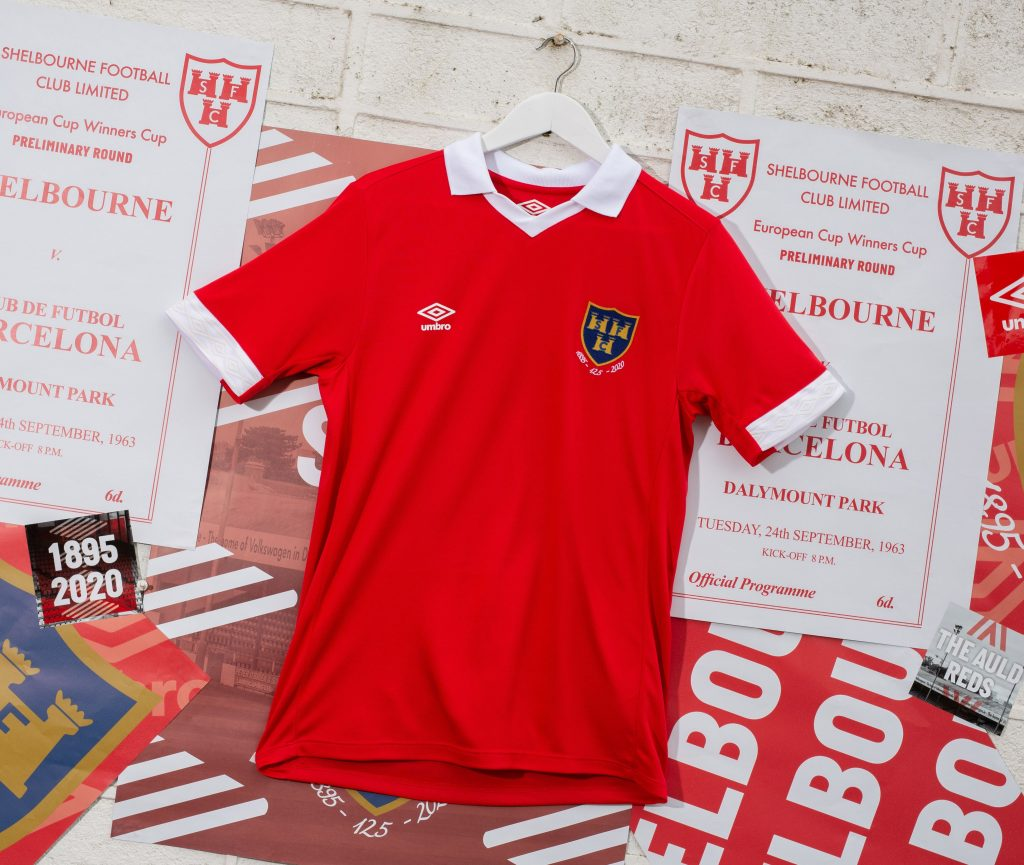 Shelbourne FC's 2020 home jersey