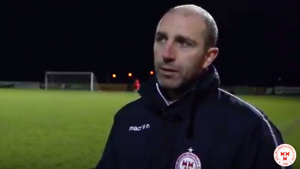 Owen Heary interview following 4-1 defeat of Athlone Town