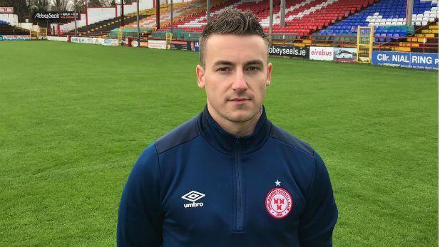 Portrait of Aidan Friel a player at Shelbourne FC.