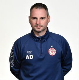 Portrait of Alan Dooley the Physio of Shelbourne FC