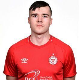 Portrait of Alex O Hanlon a midfielder of Shelbourne FC