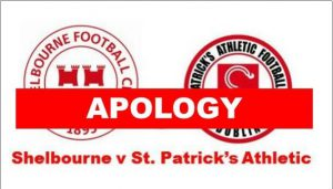 Apology to Shels & Pats Fans