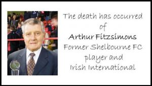 The Death has occurred of Arthur Fitzsimons – RIP