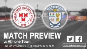 News and Match Preview – v Athlone Town