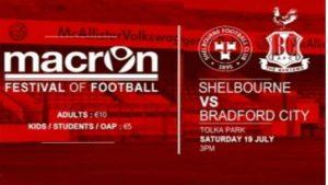 Shelbourne v Bradford City