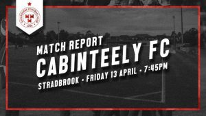 Cabinteely 2-0 Shelbourne : REPORT