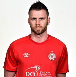 Portrait of Ciaran Kilduff a forward of Shelbourne FC