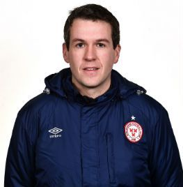 Portrait of Conor Murphy the opposition analyst and scout of Shelbourne FC