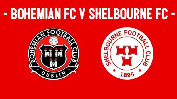 image for cup fixture between Bohemian Football club and Shelbourne Football club