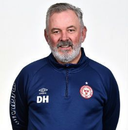 Portrait of David Henderson the head of football operations with Shelbourne FC