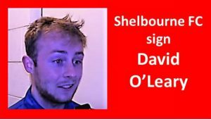 David O'Leary signs for Shelbourne