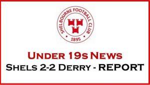Shels 2-2 Derry City – REPORT
