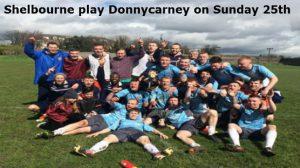 Shelbourne v Donnycarney FC – Sunday, 25th