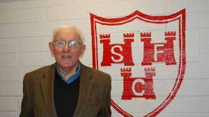Former player, Hugh Brien, revisits Tolka Park