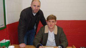 Adam O'Connor Re-signs