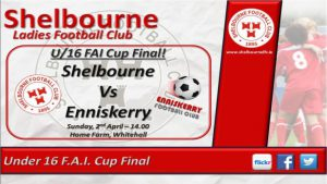 FAI Ladies Under 16 Cup Final : Shelbourne v Enniskerry