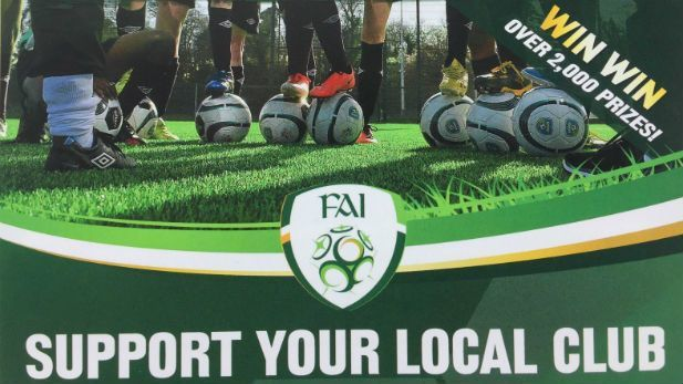 FAI national draw image to support your local club.