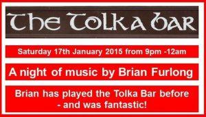 Music at the Tolka Park Bar