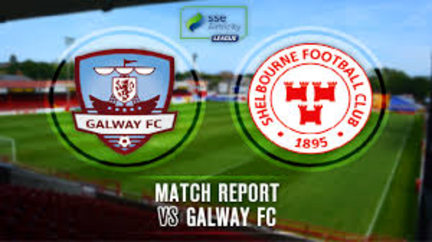 An image of Galway FC vs Shelbourne FC match report.