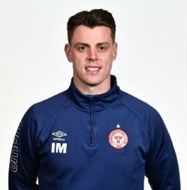 Portrait of Ian Morris the manager of Shelbourne FC