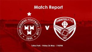 Shelbourne 1-4 Cabinteely : REPORT