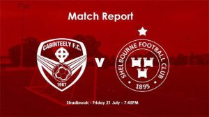 Cabinteely 1-0 Shelbourne : REPORT