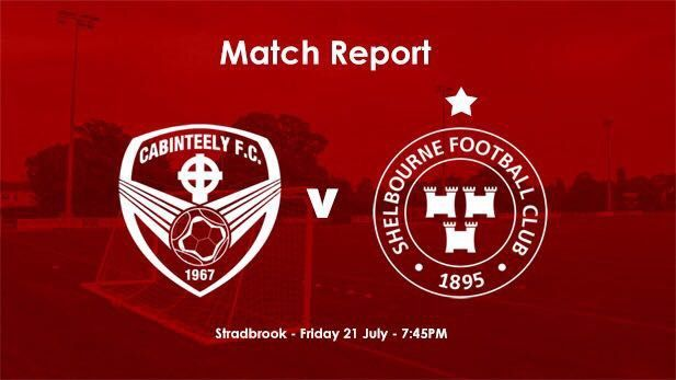 Cabinteely v Shelbourne match report image