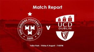 Shelbourne 1-1 UCD : REPORT