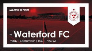 Waterford FC 1-1 Shelbourne : RESULT