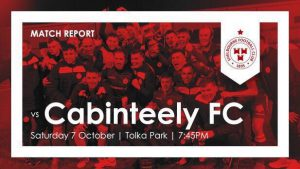Shelbourne 3-1 Cabinteely : RESULT