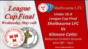 U16 Ladies Cup Final – May 24th