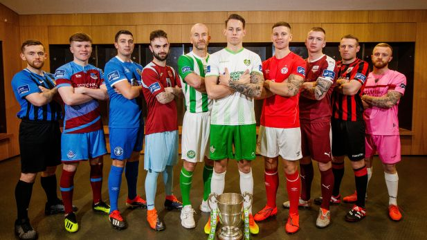 The league of Ireland teams unveil new kits for the season ahead
