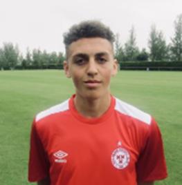 Portrait of Jaze Kabia a forward of Shelbourne FC