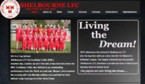 Shelbourne Ladies Launch New Website