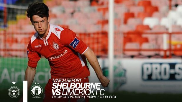 An image of shelbourne FC player playing football.