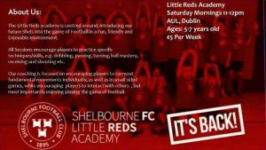 Shelbourne's Little Reds Are Back