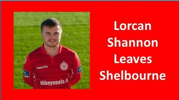 Lorcan Shannon leaves Shelbourne Football Club
