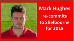 Mark Hughes commits to Shelbourne for 2018